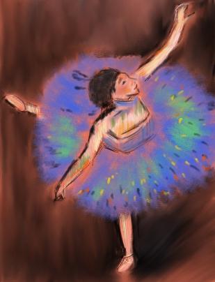 Degas' Ballerina