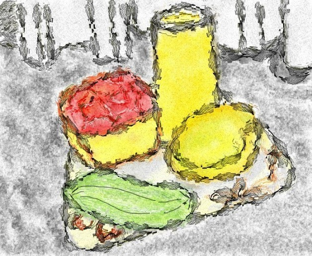 Still life in Corel Photo Paint